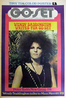 WENDY SADDINGTON, COVER OF GO-SET
