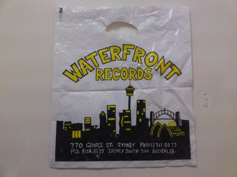 Waterfront Records bag photograph: Vanessa Berry World
