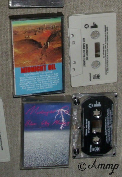 MIDNIGHT OIL RED SAILS TAPE