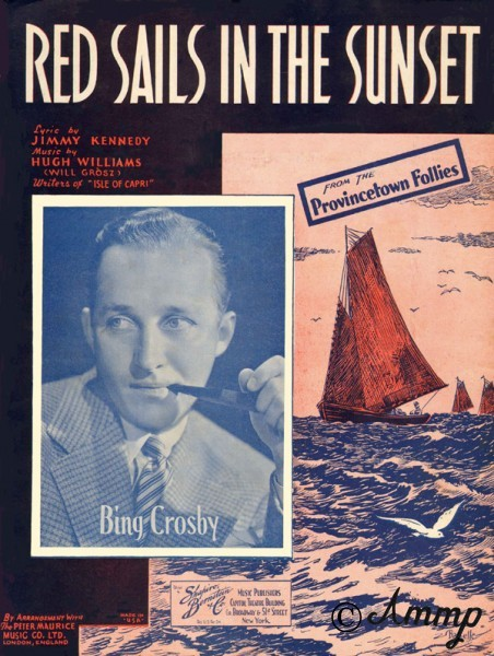 RED SAILS IN THE SUNSET BING CROSBY