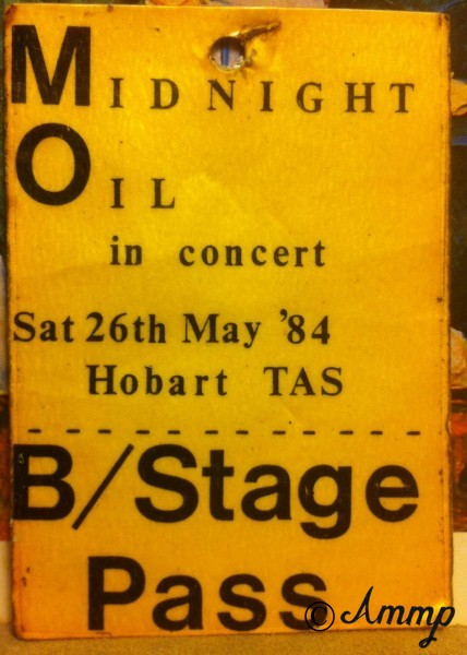 Midnight Oil laminate: Marshall Cullen.