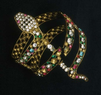 Armlet worn by Grace Angelou at The Palace Theatre (Arts Centre Melbourne).