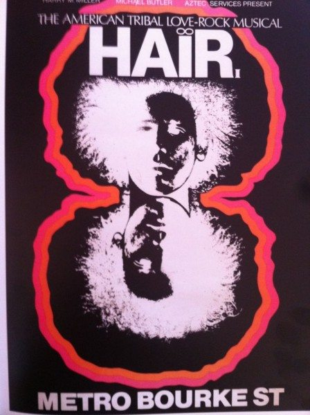 Hair at The Metro (Palace Theatre) Bourke St Melbourne.