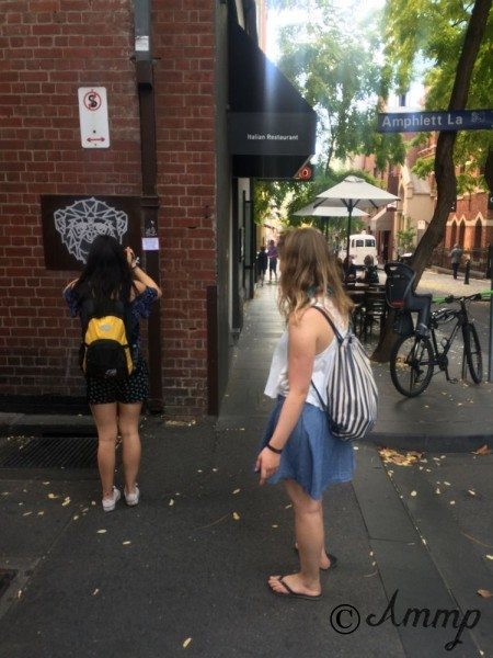 Divinyls fans at Amphlett Lane, Melbourne, 2016.