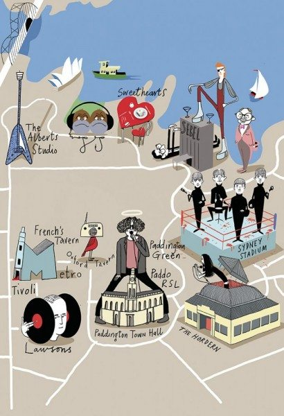 The Sydney Music Map by Bernard Zuel (Sydney Morning Herald).