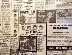 Thumping Tum advertisement from The Toorak Times.