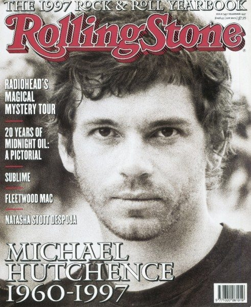 Michael Hutchence by Tony Mott for Rolling Stone Australia.