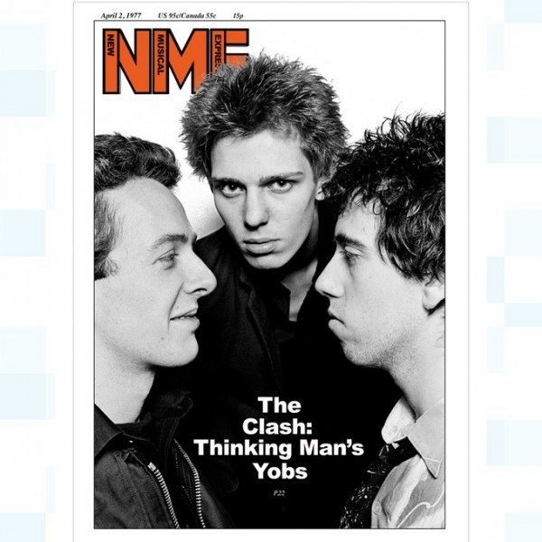 The Clash in the NME. Bernie Rhodes bought (I'm) Stranded in bulk.