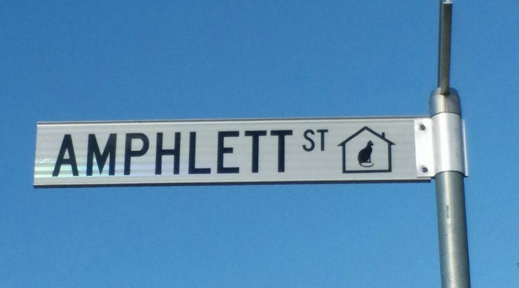 Amphlett Street Canberra named after Chrissy Amphlett.