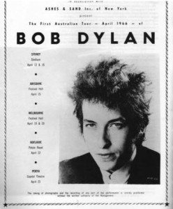 Bob Dylan, the Nobel prize-winner who played Festival Hall.