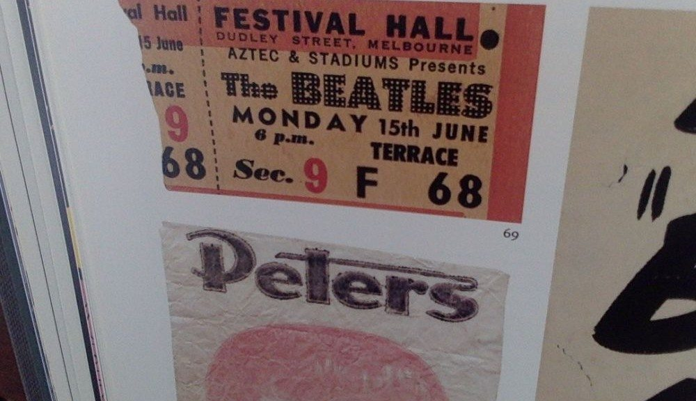 The Beatles at Festival Hall