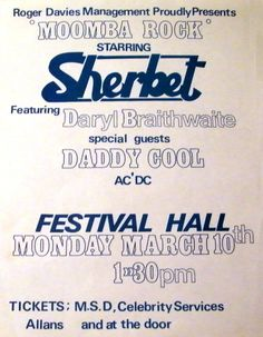 ACDC support Sherbet