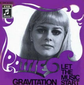 Pattie - Gravitation - Let the Music Start - Album Cover