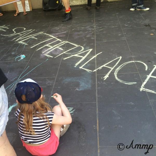 Save The Palace rally, November 2014.