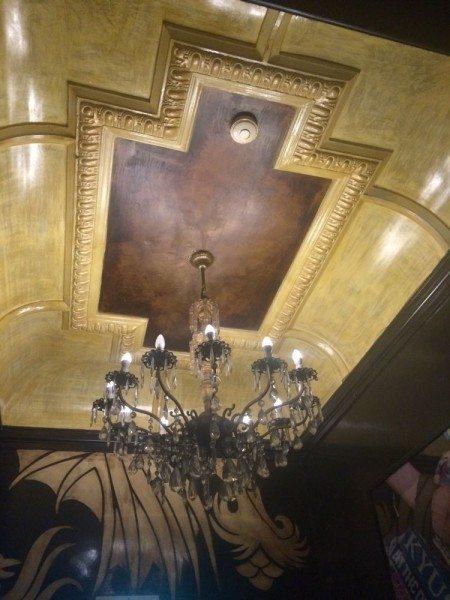 The Espy Ballroom Ceiling