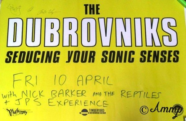 The Dubrovniks poster from Rock Brat.