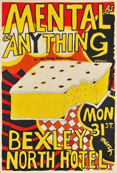 Vanilla Slice poster by Paul Worstead $1950 AUD (2017)