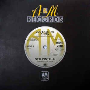 The Sex Pistols' famous single $24, 411