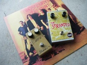 Effects pedals with a Stranded map.