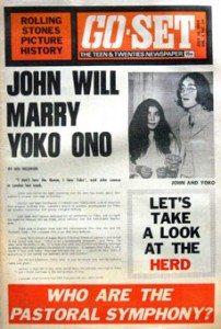 Go-Set John Will Marry Yoko Ono