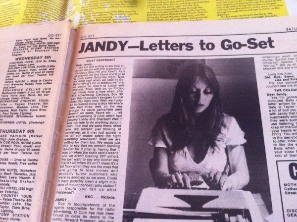 Let Jandy answer your problems at Go-Set.