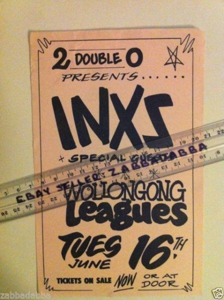 INXS Flier 49 99