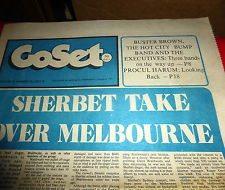 Sherbet Take Over Melbourne in Go-Set.