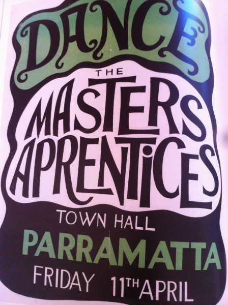 The Masters Apprentices at Parramatta Town Hall.