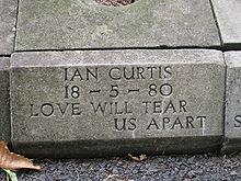 Ian Curtis Grave