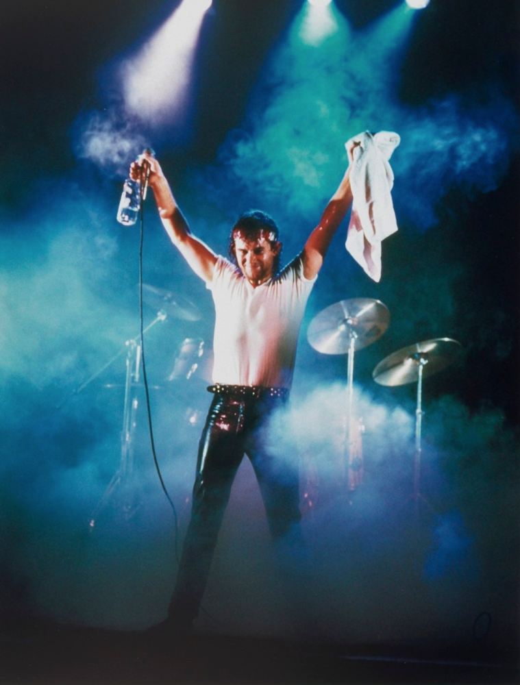 Jimmy Barnes at The Coogee Bay Hotel 1984 Grant Matthews. © Grant Matthews