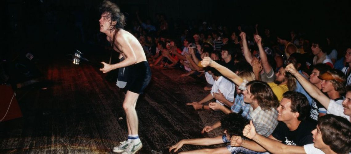 AC/DC's Angus Young in 1978 by Rennie Ellis
