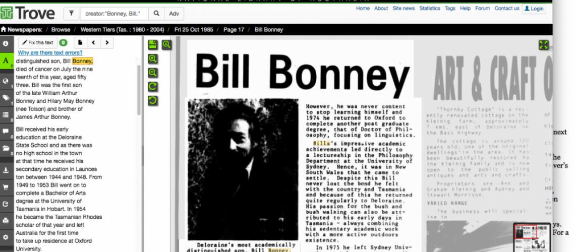 BILL BONNEY II