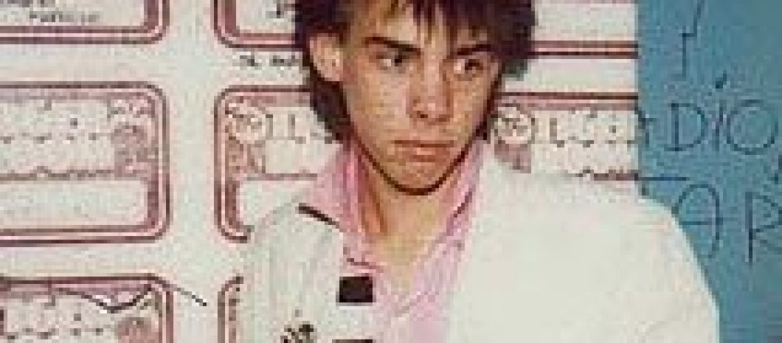 Nick Cave at the Tiger Room 1978