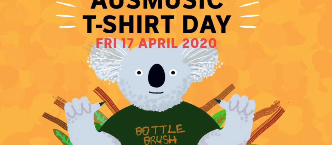 Triple J is hosting AusMusic T-Shirt Day on April 17th Image: Triple J