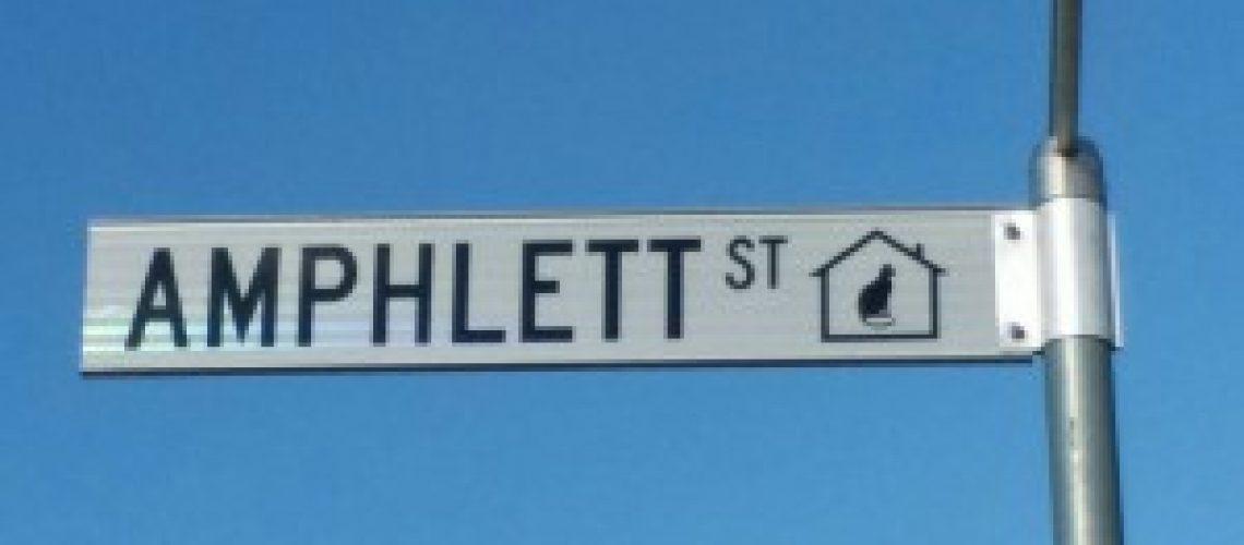 Amphlett Street Canberra named after Chrissy Amphlett.