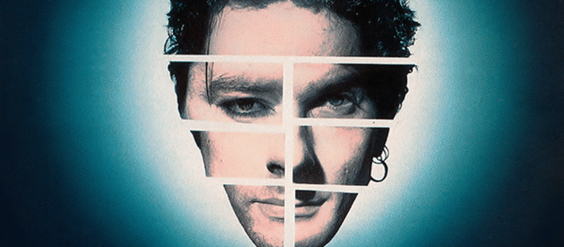 The iconic Max Q portrait of Michael Hutchence.